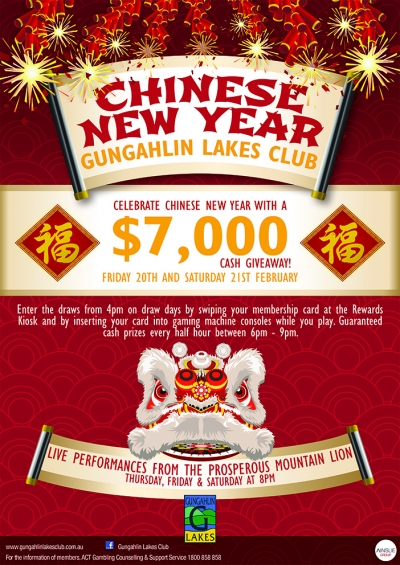 Come celebrate Chinese New Year of the Ram